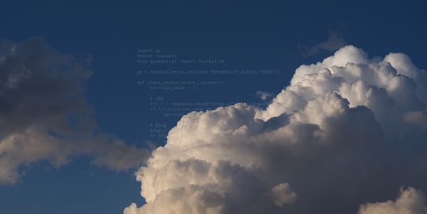 Monitor your website with cloud functions